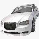chrysler 300 3D models