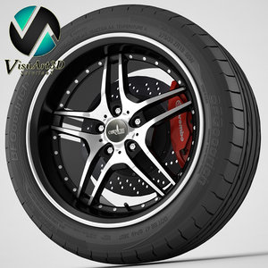 3ds max wheel corniche vegas