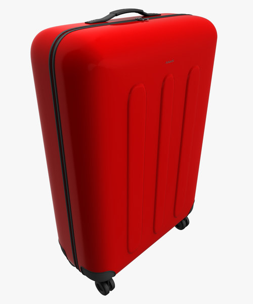 baggage bag travel 3d 3ds