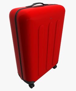 baggage bag travel 3d 3ds