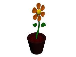 max cartoon flower