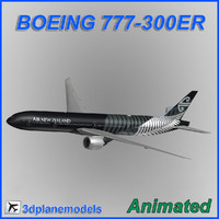 Boeing 777-300ER Air New Zealand (All Blacks)