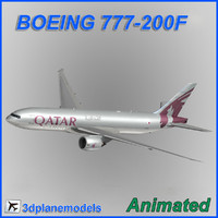 Boeing 777-200F Qatar Airways Cargo