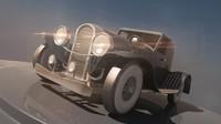 duesenberg vintage car 3d max