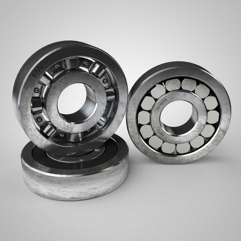 ring bearing 3d max