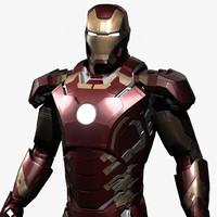 iron-man avengers age ultron obj