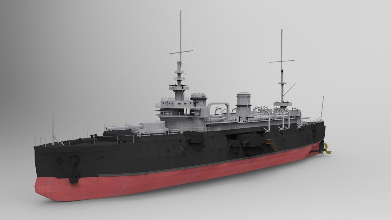 battleship bouvet ship max