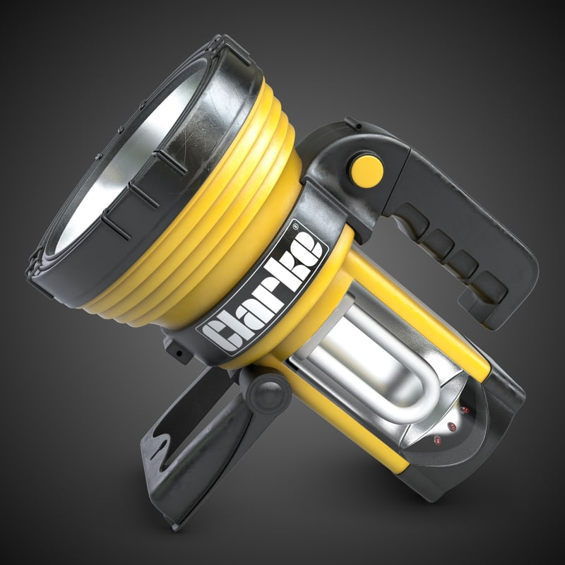 3ds max spotlight modeled