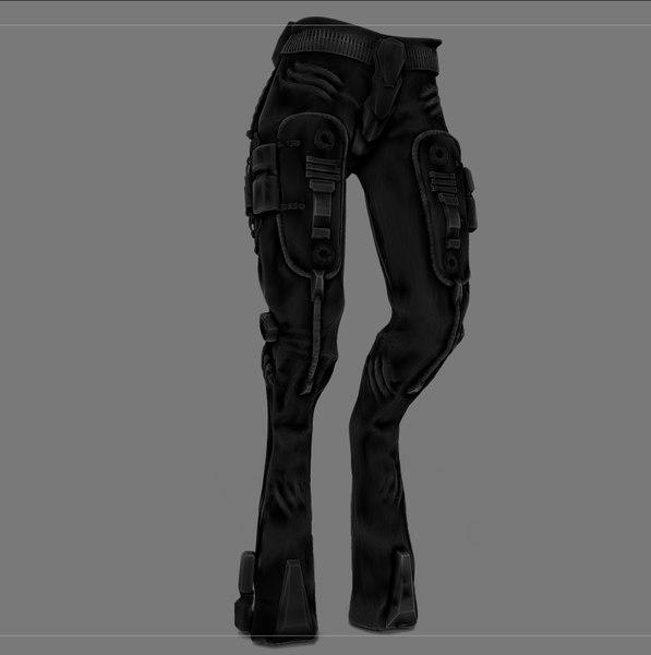 pants sci-fi obj