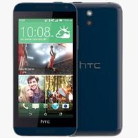 3d htc desire 610 blue