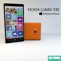 3d nokia lumia 930