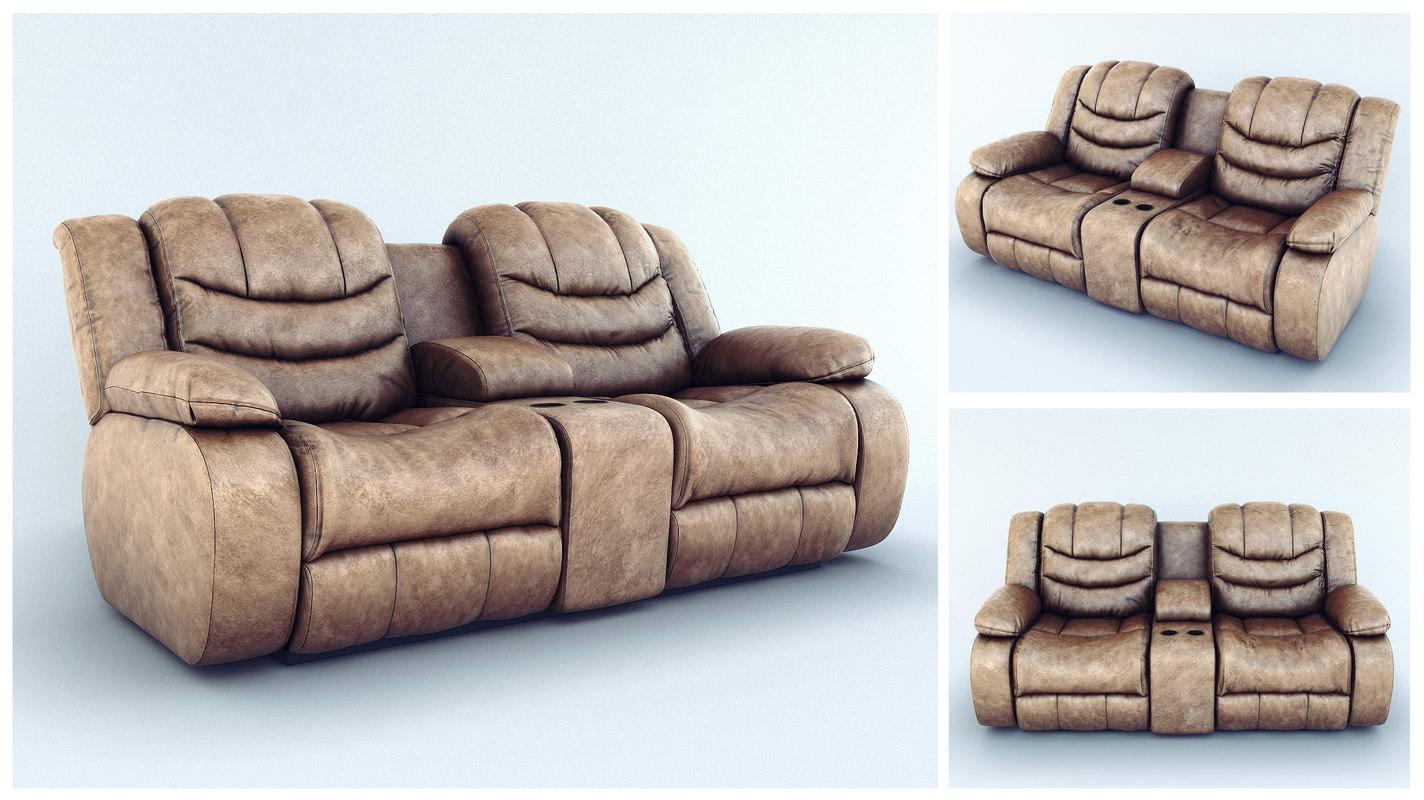 3d sofa ashley