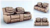 3d sofa ashley