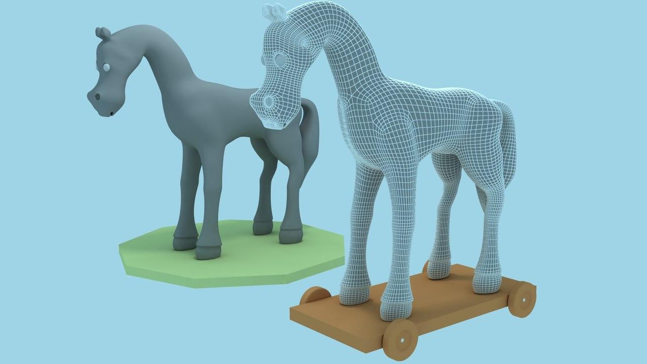 max toy horses