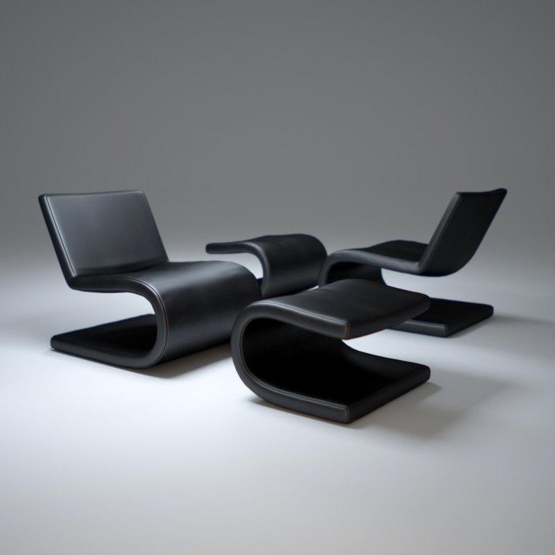 snake-chair 3d model