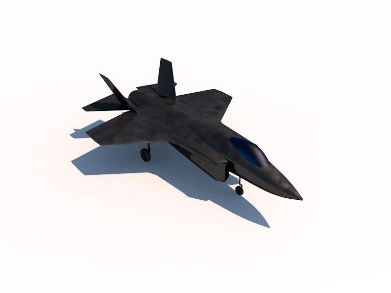f-35 lightning 3d c4d