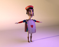 Knave Of Hearts cartoon character