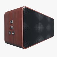 3d model bluetooth speaker