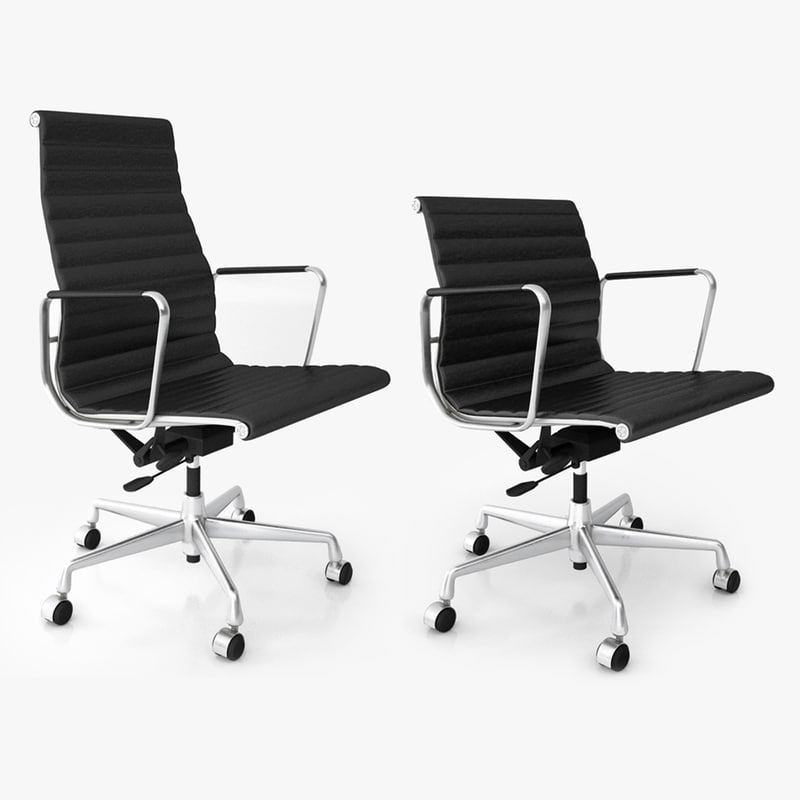vitra office chair 3d model