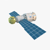 Zvezda Service Module Of ISS