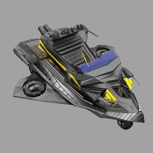 3d model jet ski