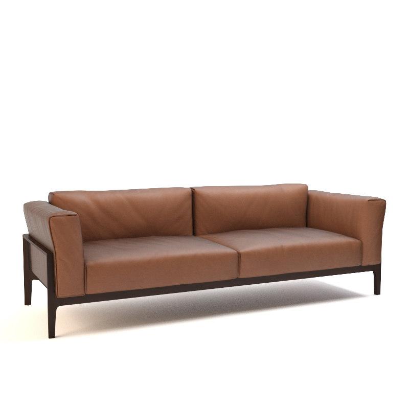 elm sofa armchair 3d model