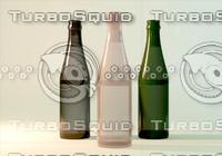 3ds 514633 beer bottle