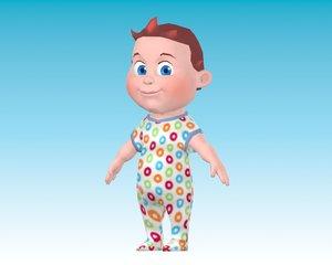 cartoon baby boy 3ds