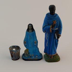 max religious statuettes