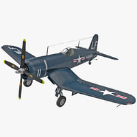 US WWII Fighter Aircraft F4U Corsair