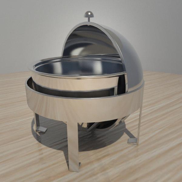 buffet heater 3d model