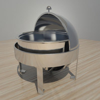 buffet heater 3d model
