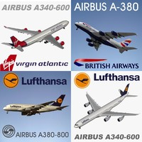 3d airbus pack