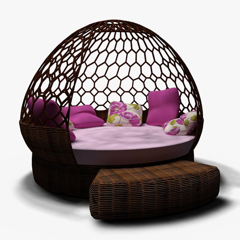 3d sofa hammock