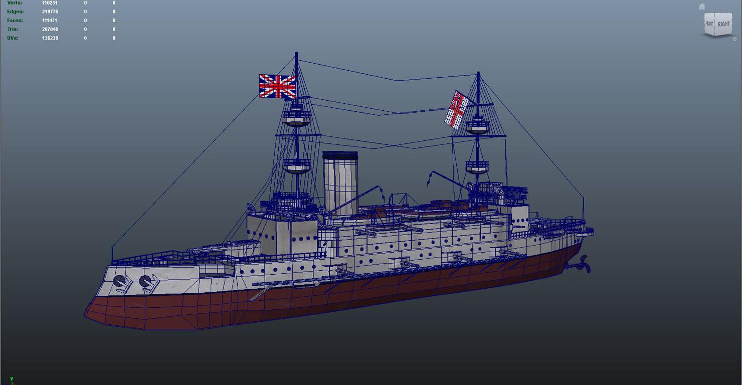 max majestic class battleships ships