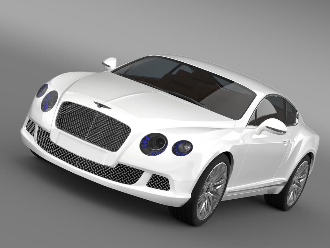 3d vehicle 2012 bentley continental