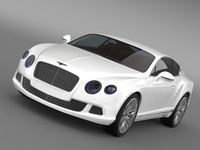 3d vehicle 2012 bentley continental
