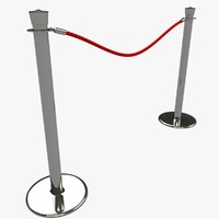 Velvet Rope Stanchion