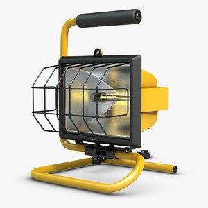 work light 1 3d model