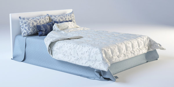 3d max bed cloth