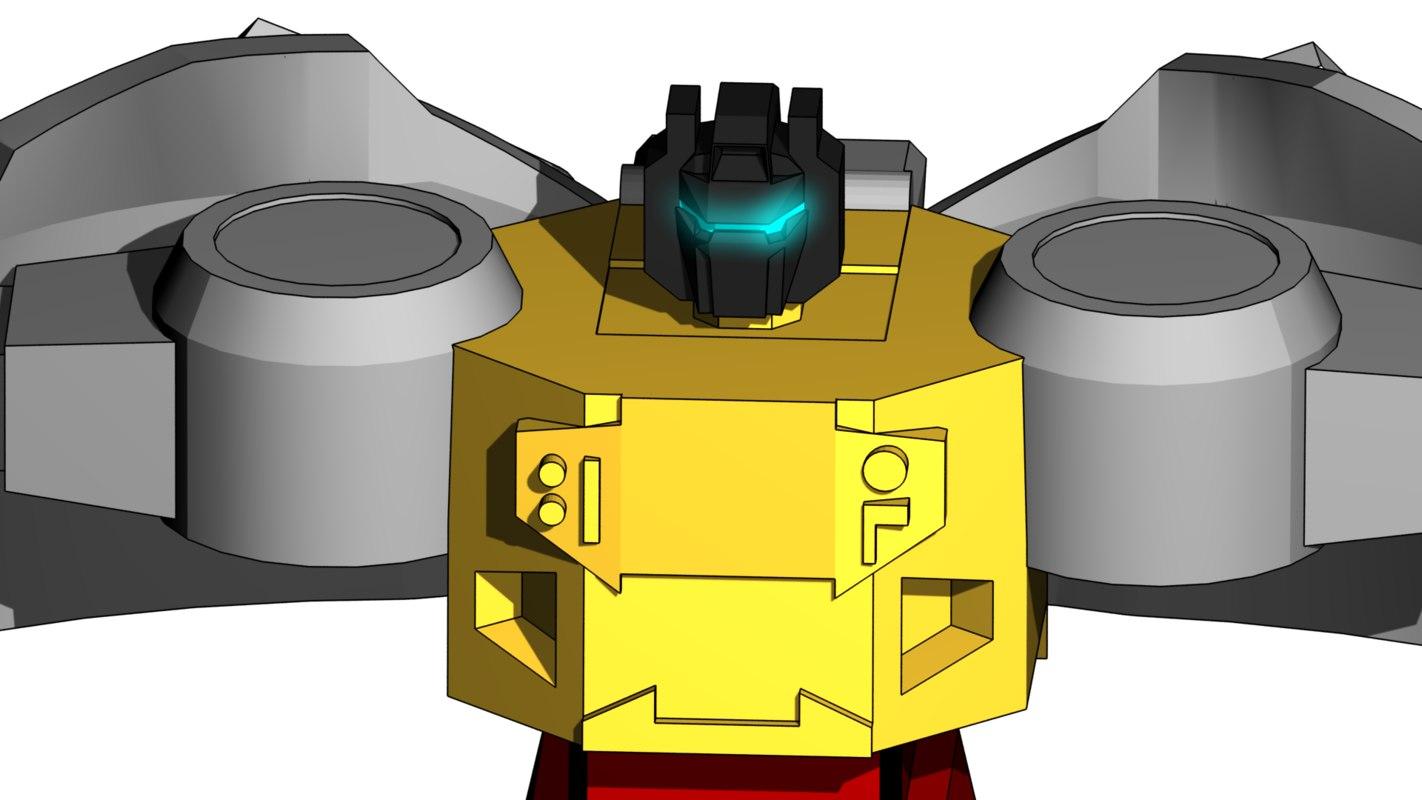 grimlock 1 3d model