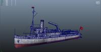3d model nusret ship