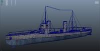 3d war navy sea
