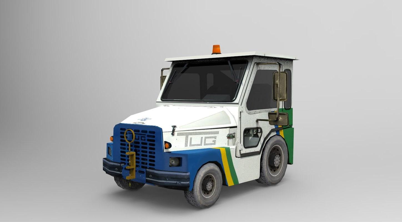 m1a tug 3d model