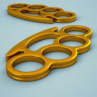 3dsmax brass knuckles