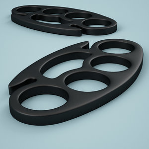 3ds max brass knuckles