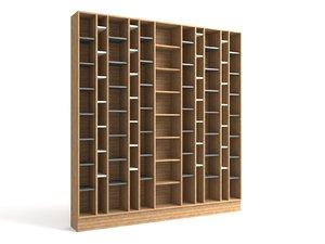 3dsmax wood shelf