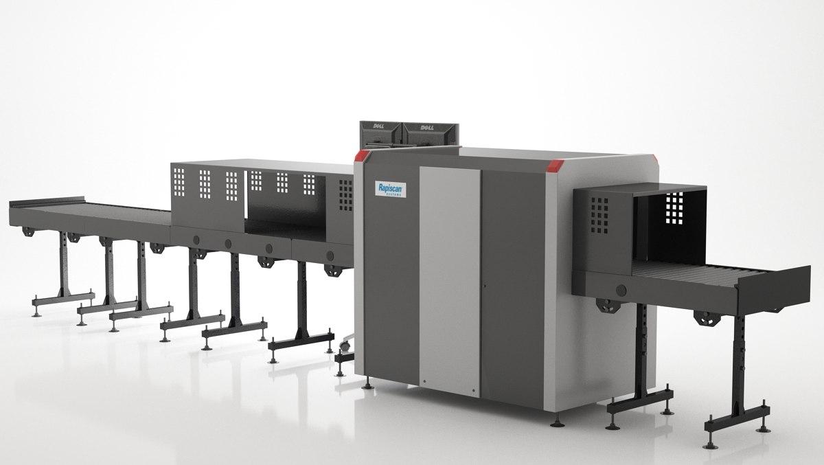 3d rapiscan x-ray machine model