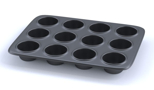 3ds max muffin pan