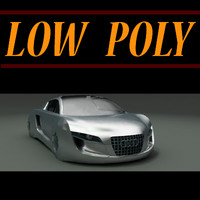 Low Poly Audi RSQ